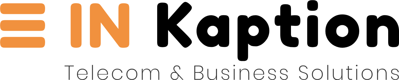 in Kaption logo